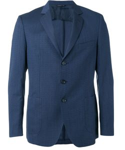 Tonello | Pocket Front Blazer 52 Virgin Wool/Cotton/Silk