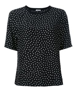 P.A.R.O.S.H. | Polka Dot T-Shirt Womens Size Xl Silk