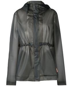 Hunter | Hooded Raincoat Size Large