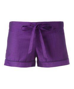 OTIS BATTERBEE | Bow Pyjama Shorts Xs Cotton