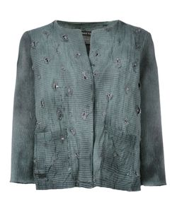 Avant Toi | Distressed Overdyed Knitted Jacket