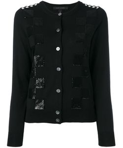 Marc Jacobs | Embroidered Classic Checkered Cardigan Size Small
