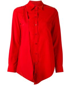 MM6 by Maison Margiela | Удлиненная Рубашка С Асимметричным Подолом