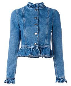 J.W. Anderson | J.W.Anderson Ruffled Denim Jacket Size 8 Cotton