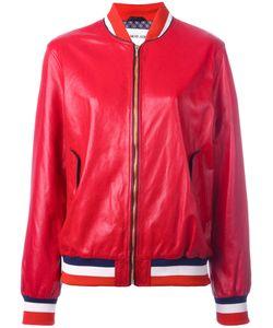Michel Klein | Bomber Jacket 36 Leather/Silk