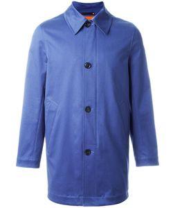 Paul Smith | Zip Button Coat Large Cotton/Elastodiene