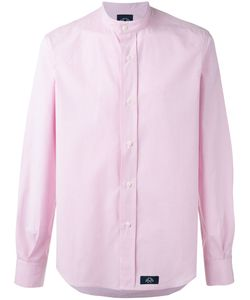 Bleu De Paname | Mandarin Neck Slim-Fit Shirt