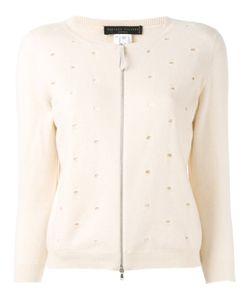 Fabiana Filippi   Zip Front Cardigan Size 40