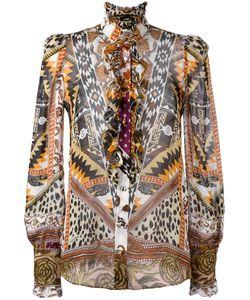 Roberto Cavalli | Прозрачная Рубашка С Узором
