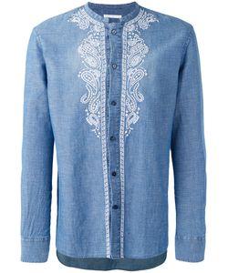 Ermanno Scervino | Рубашка С Вышивкой Без Воротника