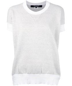 JUNYA WATANABE COMME DES GARCONS | Junya Watanabe Comme Des Garçons Distressed Short Sleeve Sweater