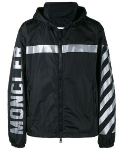 Moncler x Off-White | Stripe Hooded Jacket 4 Polyamide