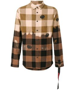 SOLD OUT FRVR | Plaid Check Shirt Men Cotton/Polyester/Other