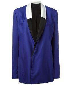 Haider Ackermann | Contrast Shawl Collar Blazer Size 38