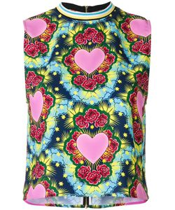 House Of Holland   Heart Tank 8 Polyester