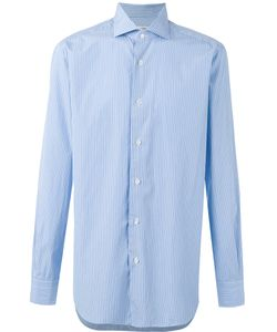 Barba | Striped Button-Up Shirt Size 42