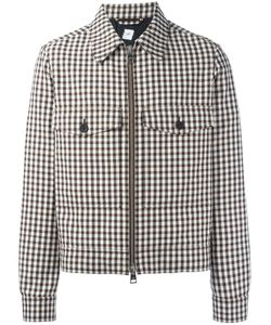 Ami Alexandre Mattiussi | Checked Zipped Jacket Small Acetate