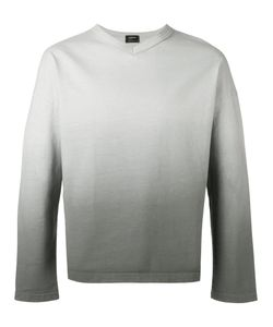 Jil Sander | Ombre V-Neck Sweater Size Small