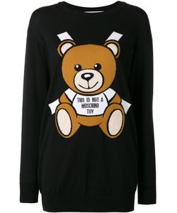 Moschino | Toy Bear Paper Cut Out Intarsia Sweater Dress