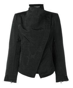 Ann Demeulemeester | Байкерская Куртка С Высоким Воротником