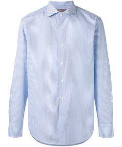 Canali | Полосатая Рубашка С Длинными Рукавами
