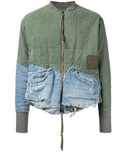 GREG LAUREN | Лоскутная Куртка Бомбер