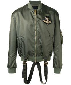 Les Hommes | Strap Detail Bomber Jacket Size 46