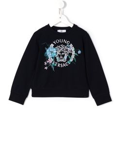 Young Versace | Medusa Embroide Sweatshirt 10 Yrs