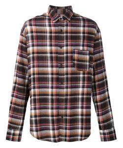 The Elder Statesman   Deadstock Flannel Checked Shirt Men