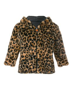 Save The Duck | Cropped Animal Print Jacket Women