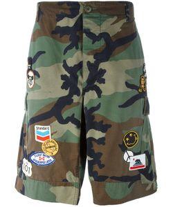 HTC Hollywood Trading Company | Camouflage Cargo Shorts Large Cotton
