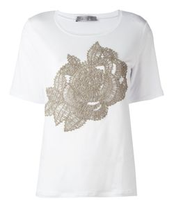 D.exterior | Embroidered T-Shirt Size Large