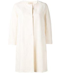 'S Max Mara | S Max Mara Collarless Coat Size 36