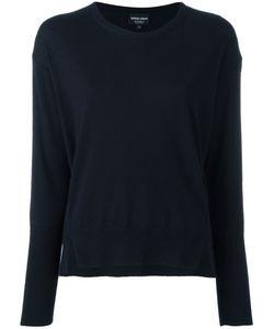 Giorgio Armani | Slit Trim Sweatshirt 42 Cashmere