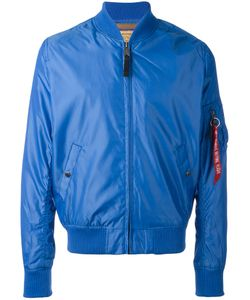 Alpha Industries | Zipped Bomber Jacket Small