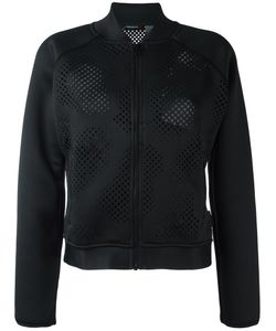 Reebok | Perforated Detailing Jacket Small Polyester/Spandex/Elastane