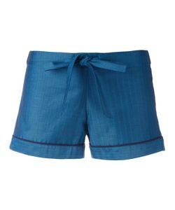 OTIS BATTERBEE | Bow Pyjama Shorts Small Cotton