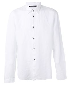 Hannes Roether | Contrast Button Shirt Size Large