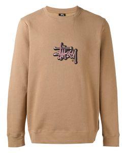 Stussy | Embroidered Logo Sweatshirt M
