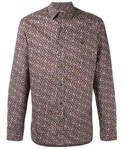 Burberry | Oval Print Shirt Small Cotton