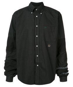 Black Fist | Dissected Button Up Shirt Size Small