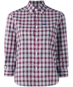 Dsquared2 | Cropped Sleeve Plaid Shirt