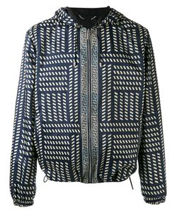 Versace | Tribal Print Hooded Jacket Size 50