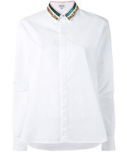 Kenzo   Рубашка С Пайетками На Воротнике