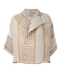 Issey Miyake | Ribbed Detail Jacket