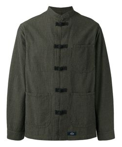 Bleu De Paname | Mandarin Neck Duffle Shirt