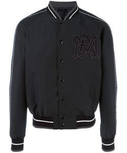 Alexander McQueen | Insignia Bomber Jacket 46 Wool/Viscose/Nylon