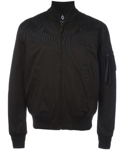 MARCELO BURLON COUNTY OF MILAN | Embroide Wing Bomber Jacket