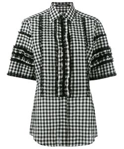Dolce & Gabbana | Short Sleeved Checked Shirt