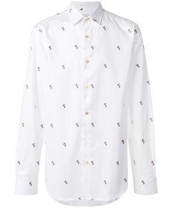 Paul Smith | Рубашка С Вышитым Кроликом